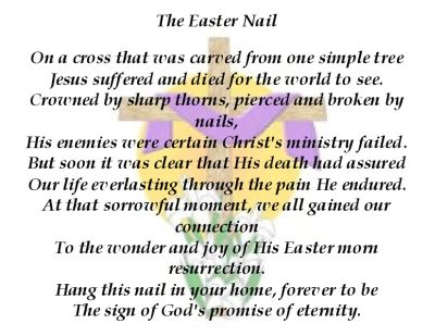 The Easter Nail Favor | Coley's Corner
