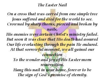 Easter poem for teen